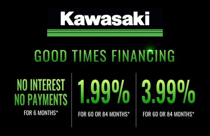 Good Times Financing with Kawasaki